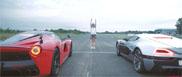 Filmpje: Rimac Concept_one vernedert de LaFerrari