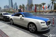Rolls Royce Wraith doet speciaal