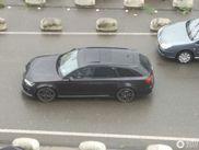 Wat gebeurde er met deze Audi RS6 Avant?