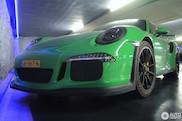 Spot van de dag: gifgroene Porsche 991 GT3 RS