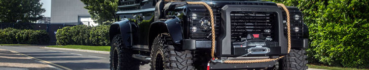 Tweaked Automotive builds Land Rover Defender 90 Spectre Edition