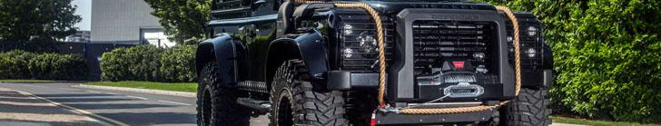 Tweaked Automotive 打造路虎 Defender 90 幽灵特别版