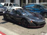 Zeer zeldzame McLaren P1 XP Carbon Series gespot