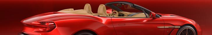 Aston Martin gaat voor 99 stuks van de Vanquish Zagato Volante