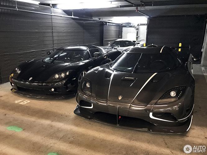 Uber Koenigsegg combo is een droom