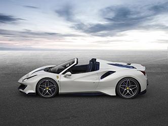 Ferrari laat de 488 Pista Spider zien