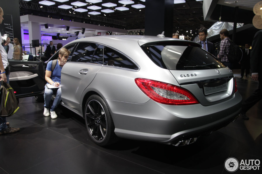 paris 2012 la mercedes benz cls 63 amg shooting brake. Black Bedroom Furniture Sets. Home Design Ideas