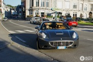 Felipe Massa spotted in the slowest Ferrari, the California