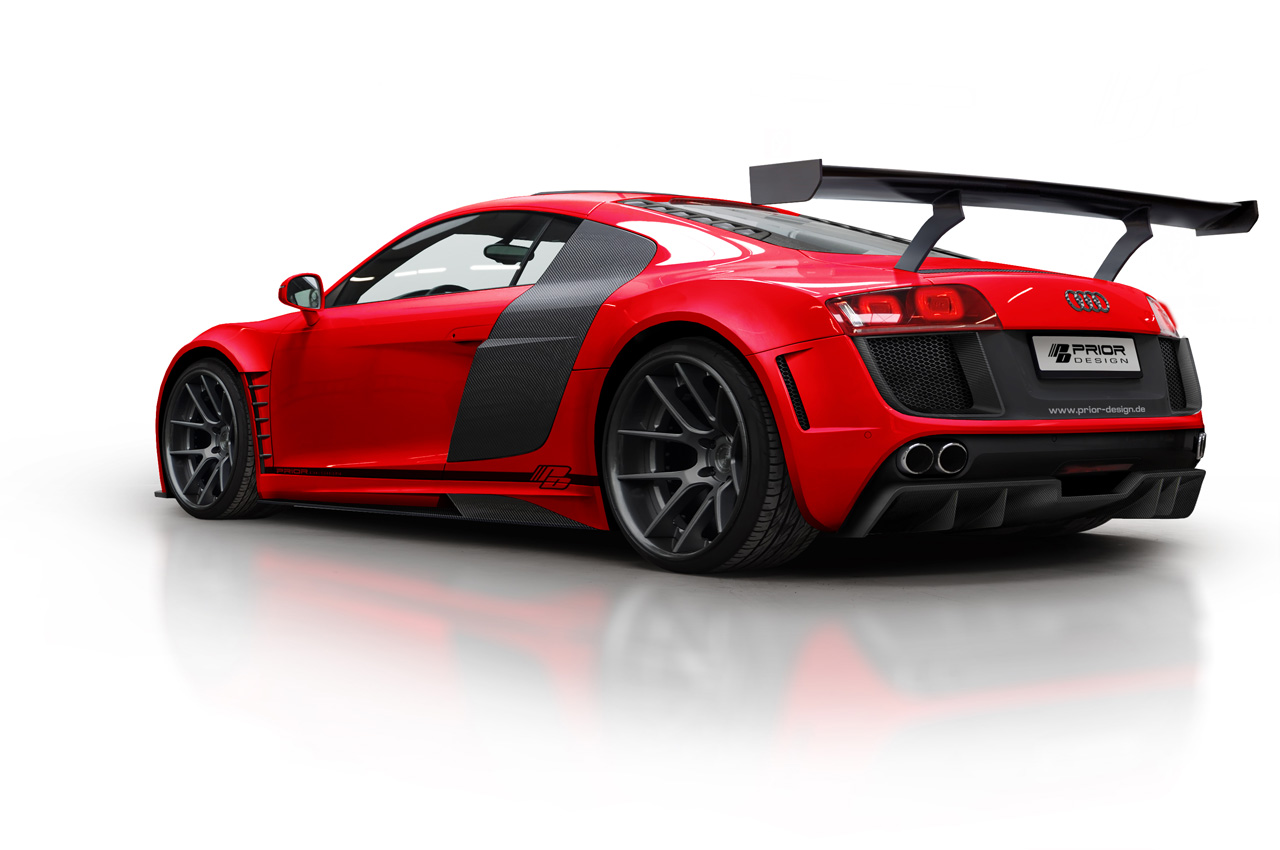 Audi R8 Gt3 Look A Like Thanks To Prior Design