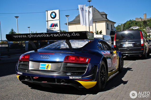 Only at the nrburgring audi r8 gt3 lms on the streets publicscrutiny Images