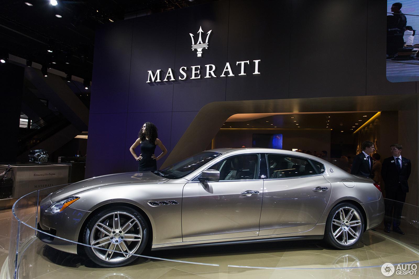 IAA 2013: Maserati Quattroporte Ermenegildo Zegna Limited Edition