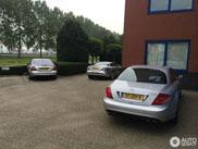 Spot van de dag: Mercedes-Benz SLR McLaren met combo