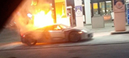 Porsche 918 Spyder ends up in flames