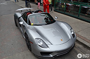 Topspot: eerste Porsche 918 Spyder in Canada