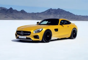 Movie: moving footage of the Mercedes AMG GT