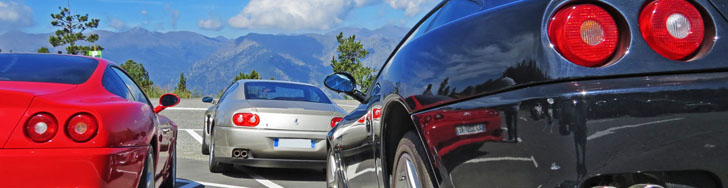 Event: Ferrari Club meeting in Andorra