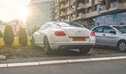 This is professional football player Aleksandar Kolarov's Bentley