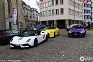 Colourful combo in Zurich