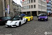 Kleurrijke combo gespot in Zürich