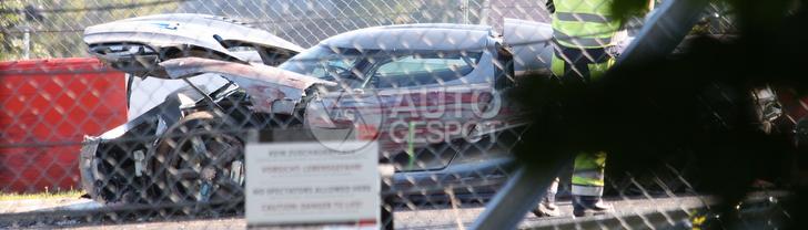 Koenigsegg Agera crashes at the Nürburgring