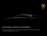 Lamborghini komt met iets spannends naar Parijs toe