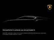 Lamborghini brings something exciting to Paris