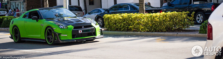 Nissan GT-R wants to the the HULK