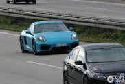 Would you dare to order this blue colour on your Cayman GTS?