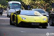 Topspot: Lamborghini Aventador LP720-4 50° Anniversario in China