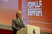 Luca di Montezemolo resigns as Chairman of Ferrari
