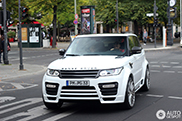 Spotted: Mansory Range Rover Sport