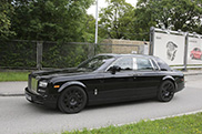 First mule of the Rolls-Royce successor appears on the streets
