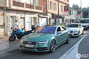 Spotted: Audi S7 Sportback in Almondgreen