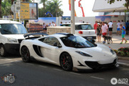 Spotted: McLaren 12C with a double spoiler