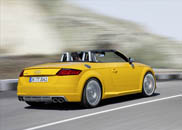 Here is the Audi TTS Roadster