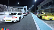 Filmpje: Porsche Club UAE op het Yas Marina Circuit