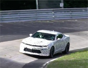 Spyvideo: Chevrolet Camaro ZL1 stretches its legs on the Nürburgring