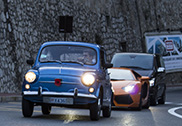 Fiat 600 steals the show in Monaco