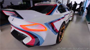 Movie: BMW 3.0 CSL Hommage R clears its throat
