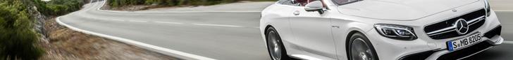 Eindelijk hebben we weer een Mercedes-AMG S 63 Cabriolet