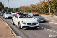 Mercedes-Benz S 63 AMG Cabrio pakt de laatste zon mee