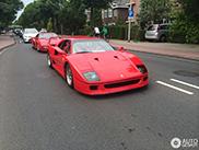 Spot van de dag: Ferrari F40