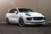 TECHART presents new power boost for the Porsche Cayenne Turbo