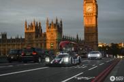 Porsche 919 Hybrid stirs up the city of London