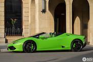Go green: Lamborghini Huracán Spyder in Verde Mantis