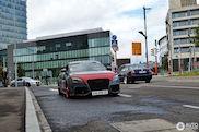 Audi TT-RS met merkwaardig uiterlijk