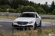 Gespot: de hoonigan uithangen met een Mercedes-AMG C 63 S