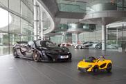 De laatste McLaren P1 is elektrisch