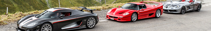 Supercar owner circle meeting in Andermatt is van ander niveau