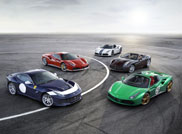 Ferrari shows five Tailor-made special editions